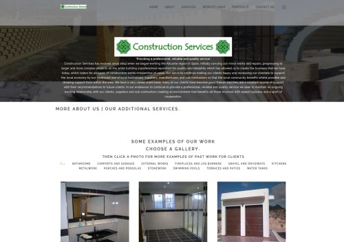 Construction Services La Romana Spain